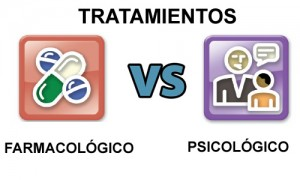 tratamiento farmacológico vs tratamiento psicológico