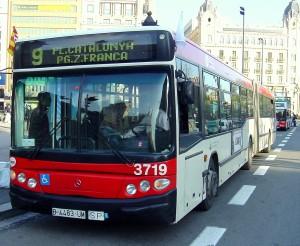 Agorafobia en barcelona en un bus
